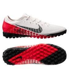 Nike Mercurial Vapor 13 Pro TF NJR Speed Freak - Krom/Sort/Rød