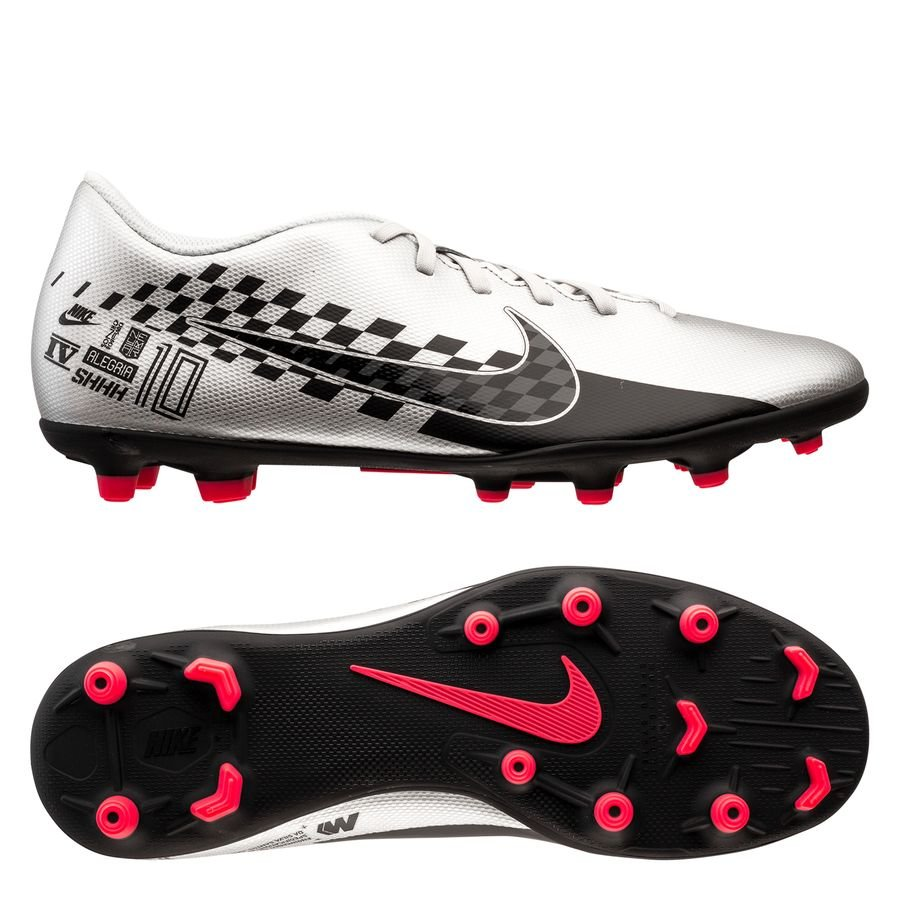 Nike Mercurial Vapor 13 Club MG NJR Speed Freak – Krom/Sort/Rød