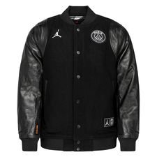Nike Varsity Jacka Jordan x PSG - Svart/Vit LIMITED EDITION