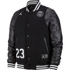 Nike Varsity Veste Jordan x PSG - Noir/Blanc ÉDITION LIMITÉE