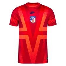 Atletico Madrid Tränings T-Shirt Pre Match Europa - Röd/Röd