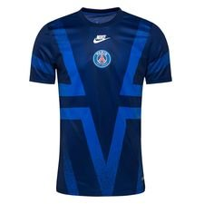 Paris Saint-Germain Tränings T-Shirt Pre Match Europa - Navy/Blå