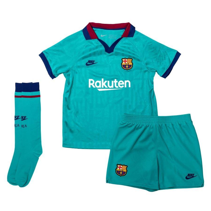 Barcelona 3. Trøje 2019/20 Mini-Kit Børn