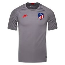 Atletico Madrid Tränings T-Shirt Breathe Strike - Grå/Röd