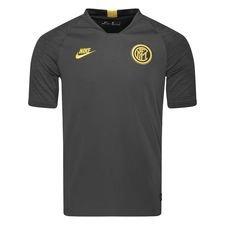 Inter Tränings T-Shirt Breathe Strike - Grå/Gul