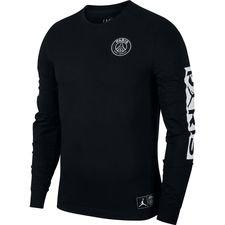 Nike T-Shirt Jordan x PSG - Svart/Vit LIMITED EDITION