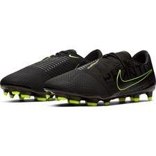 Nike Phantom Venom Pro FG - Sort/Neon