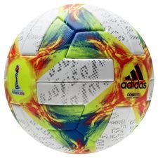 adidas Fußball Conext 19 Official Matchball Women's World Cup 19 - Gelb/Rot