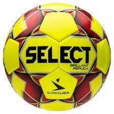 Select Fotboll Brillant Replica Superliga - Gul/Röd