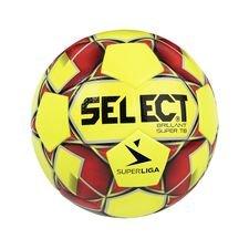 Select Fotboll Brillant Super TB 3F Superliga - Gul/Röd