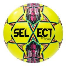 Select Fotboll Brillant Super - Gul/Rosa