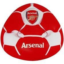 Arsenal Uppblåsbar Stol - Röd/Vit