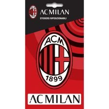 Milan Klistermärke - Röd
