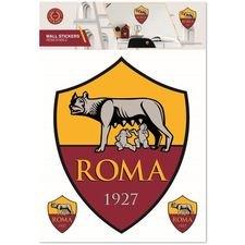 Roma Väggklistermärke - Röd/Gul