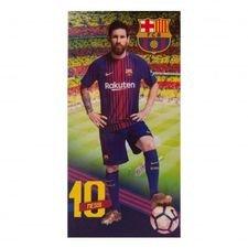 Barcelona Handduk Messi - Blå/Röd