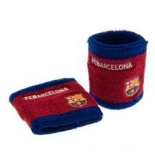 Barcelona Svettband 2-Pack - Röd/Blå