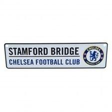 Chelsea Fönsterskylt Stamford Bridge - Vit/Blå