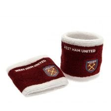 West Ham United Svettband 2-Pack - Röd/Vit
