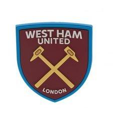 West Ham United Kylskåpsmagnet 3D - Röd