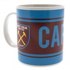 West Ham United Mugg - Röd/Blå