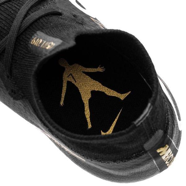 Nike Mercurial Superfly 6 Elite CR7 FG SvartGuld LIMITED EDITION