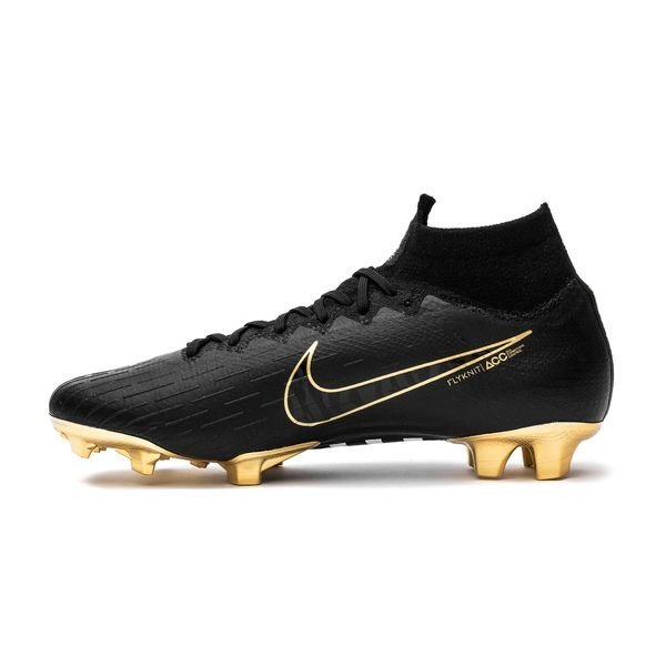 sports shoes a9dc2 a0286 Nike Mercurial Superfly 6 Elite CR7 FG - Sort/Guld LIMITED EDITION