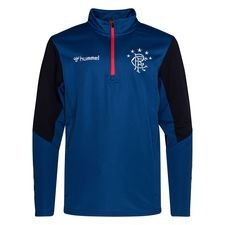 Rangers FC Trainingsshirt - Blau/Schwarz Kinder