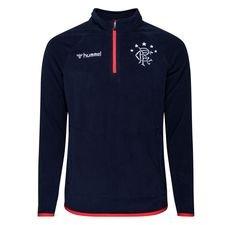 Rangers FC Trainingsshirt Fleece - Navy/Rot