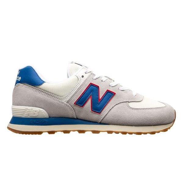 new balance 574 blue and grey
