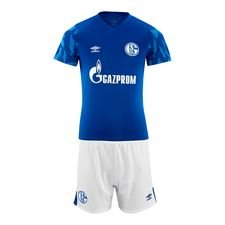 Schalke 04 Hemmatröja 2019/20 Mini-Kit Barn