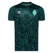 Werder Bremen Tränings T-Shirt Warm Up - Grön