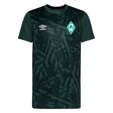 Werder Bremen Tränings T-Shirt Warm Up - Grön Barn