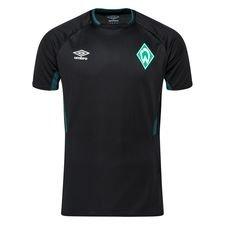 Werder Bremen Tränings T-Shirt - Svart/Vit