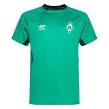 Werder Bremen Tränings T-Shirt - Grön/Vit Barn