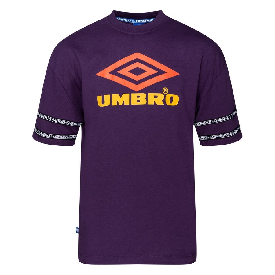 Umbro T-Shirt Reaction Crew - Lilla/Orange/Gul thumbnail