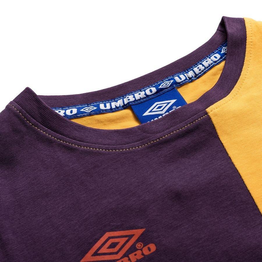 Umbro T Skjorte Takeover GulLilla Barn | unisportstore.no