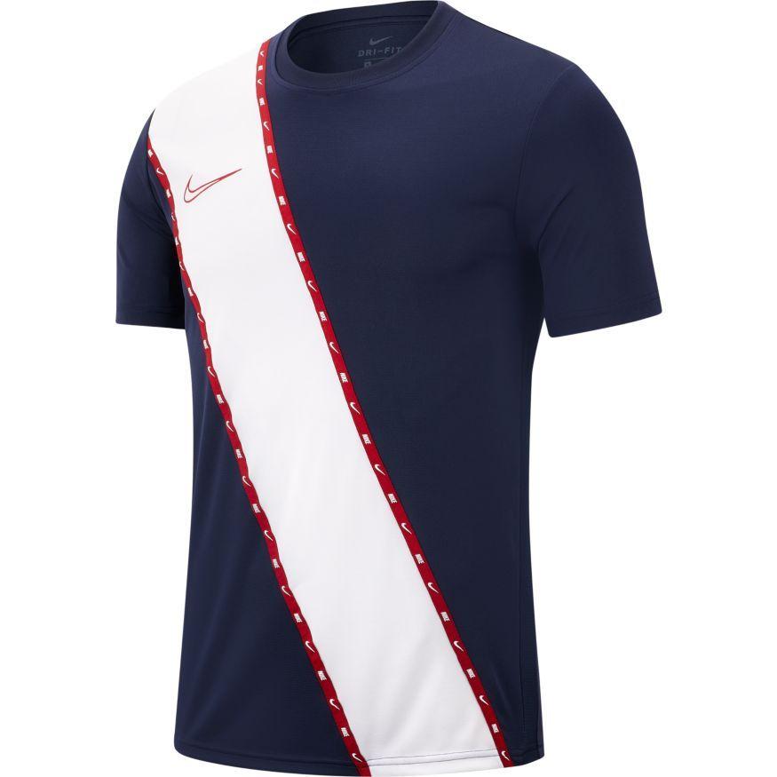 Nike Trænings T-Shirt Academy GX - Navy/Rød Børn thumbnail
