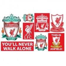 Liverpool Väggklistermärke - Röd