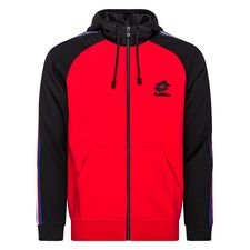 Lotto Sweatshirt Athletica III - Rot/Schwarz