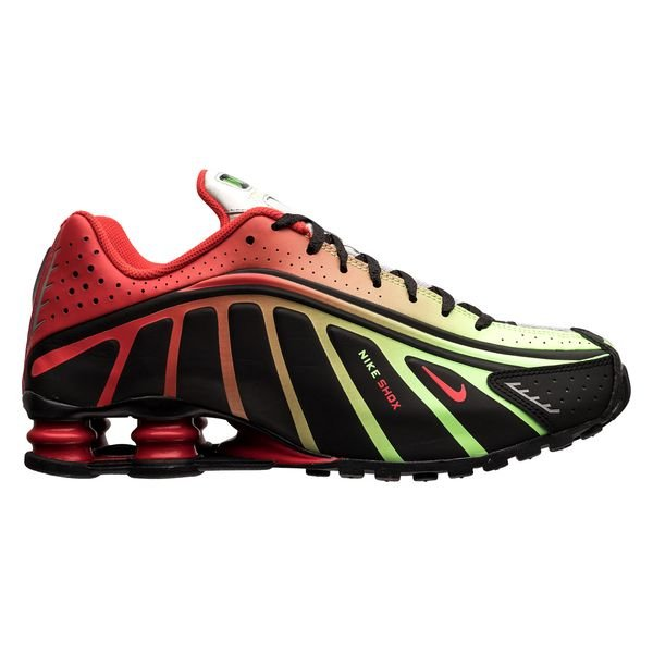 lowest discount finest selection outlet store Nike Shox NJR R4 - Schwarz/Rot/Silber LIMITED EDITION