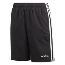 Essentials 3-Streifen Woven Shorts Schwarz