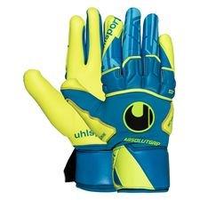 Uhlsport Keepershandschoenen Radar Control Absolutgrip Reflex - Blauw/Fluo Yello