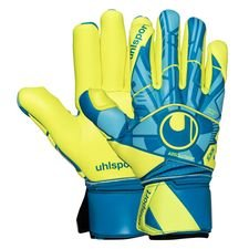 Uhlsport Torwarthandschuhe Radar Control Absolutgrip Finger Surround - Blau/Gelb