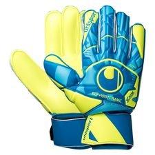 Uhlsport Keepershandschoenen Radar Control Soft SF - Blauw/Fluo Yellow Kinderen