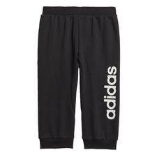Linear bukser Black