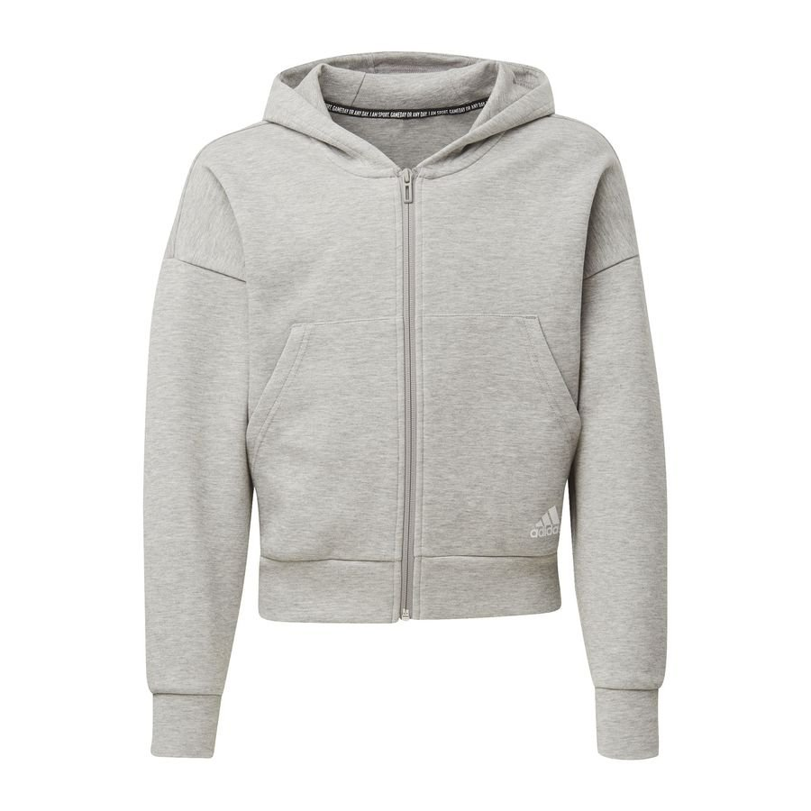 Veste à capuche Must Haves 3 Stripes Gris