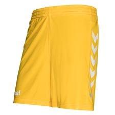 Hummel Shorts Core - Gelb/Weiß