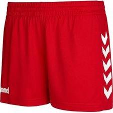 Hummel Shorts Core - Rot Damen