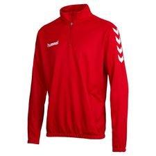 Hummel Sweatshirt Core - Rot/Weiß Kinder