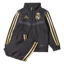 Real Madrid Presentation Suit Svart